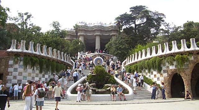Parco Guell - Ingresso